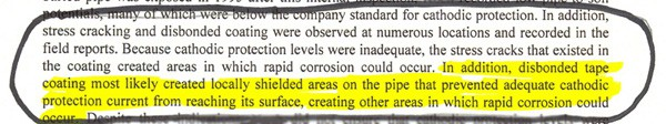 NTSB Safety Recommendations, November 18, 1998 excerpt