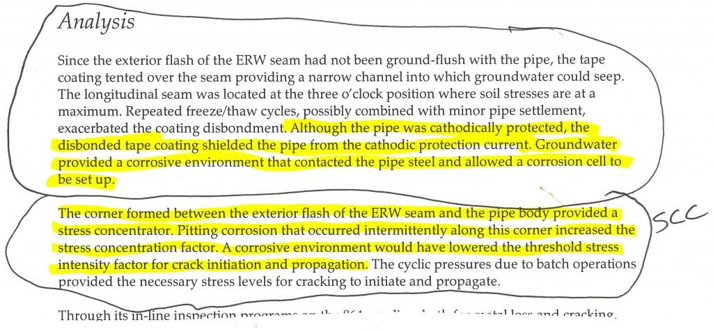 Transportation Safety Board of Canada, 2001, Report Number P01H004 excerpt