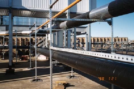 RG 2400® on the steel, Insulrap weather barrier on the insulation.