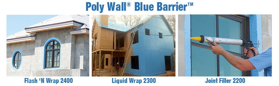 Poly Wall® Blue Barrier™ Product Line