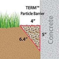 The Particle Barrier Wedge or Trench
