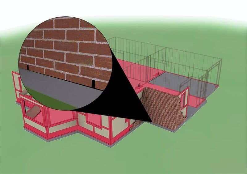 TERM® Weep & Vent Barrier - Weep Holes